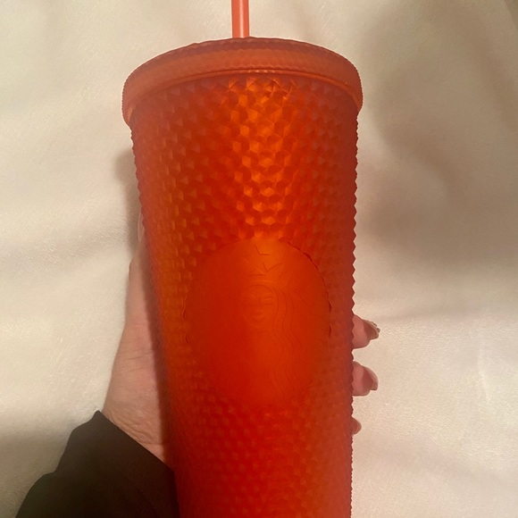 2021 Red Matte Studded Starbucks Cup